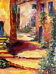 Detail Image for art Mediterranean Sunlight - SOLD