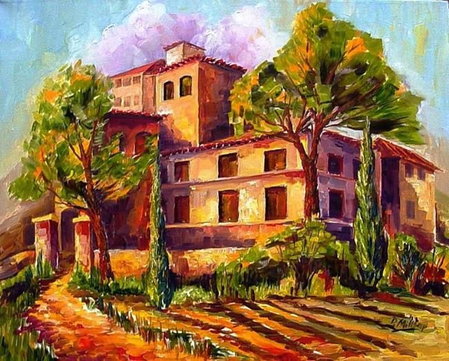 Art: Tuscan Afternoon -SOLD- by Artist Diane Millsap