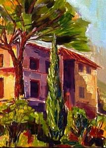 Detail Image for art Tuscan Afternoon -SOLD-