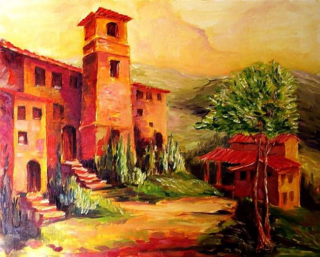 Art: Colors of Tuscany by Artist Diane Millsap