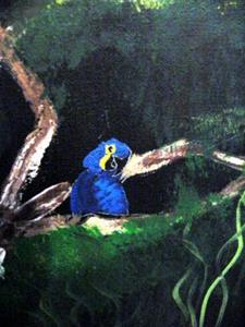 Detail Image for art Jungle Macaws