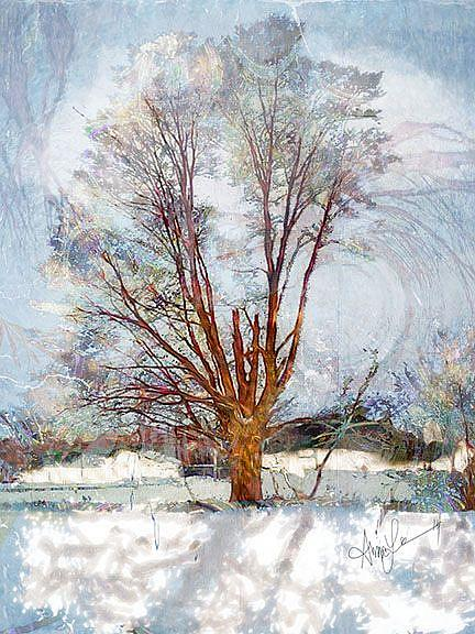 Art: Winter Remembers, the Spring Lost by Artist Alma Lee