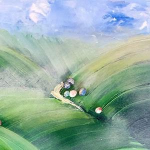 Detail Image for art Somewhere Over South Dakota