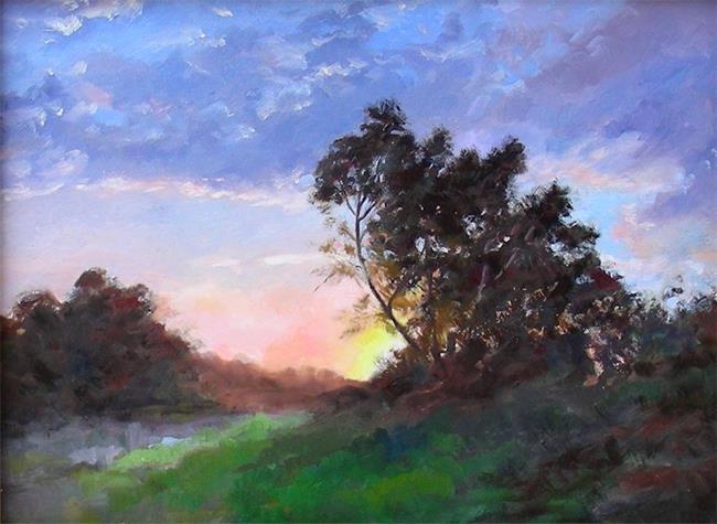 Art: Sunset Magic - NFS by Artist Karen Winters