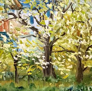 Detail Image for art Pissarro's Orchard