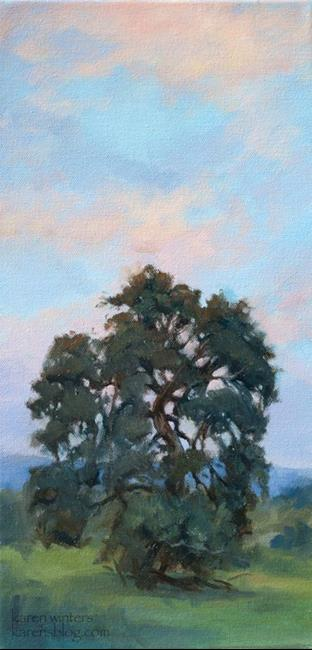Art: Reaching for the Sunset SOLD by Artist Karen Winters