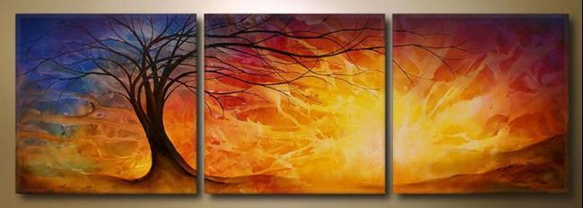 Art: Landscape by Artist Michael A Lang