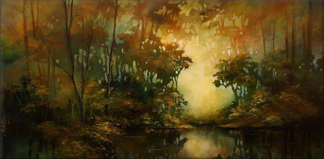 Art: landscape 2 by Artist Michael A Lang