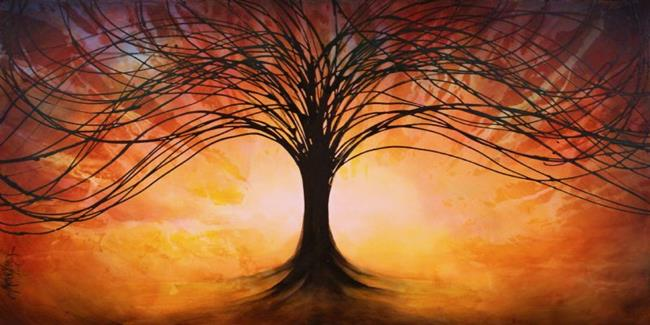 Art: Tree of Life by Artist Michael A Lang