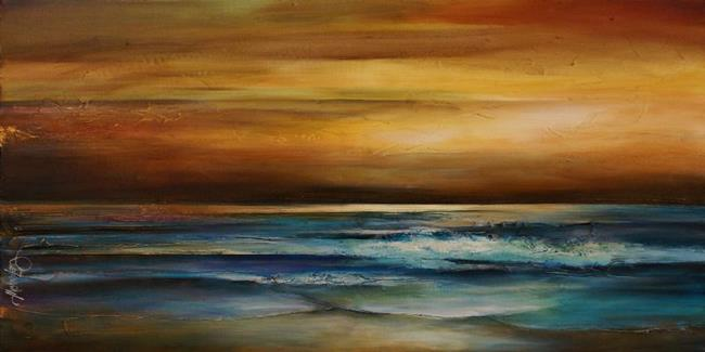Art: seascape 1 by Artist Michael A Lang
