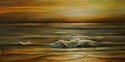 Art: seascape by Artist Michael A Lang