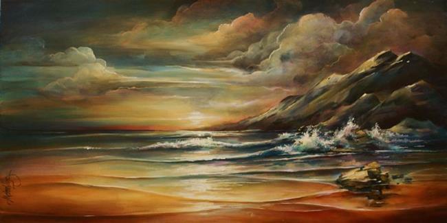 Art: seascape by Artist Michael A Lang