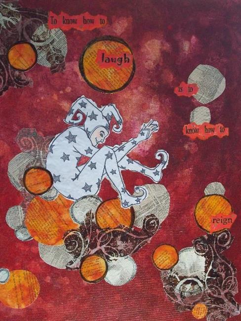 Art: Reign by Artist Emily J White