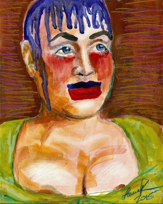 Art: Leigh Bowery by Artist Laura Ross