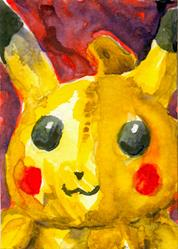 Art: Pikachu by Artist Laura Ross