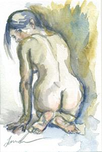 Detail Image for art Kneeling Woman
