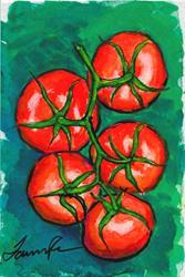 Art: Vine Tomatoes by Artist Laura Ross