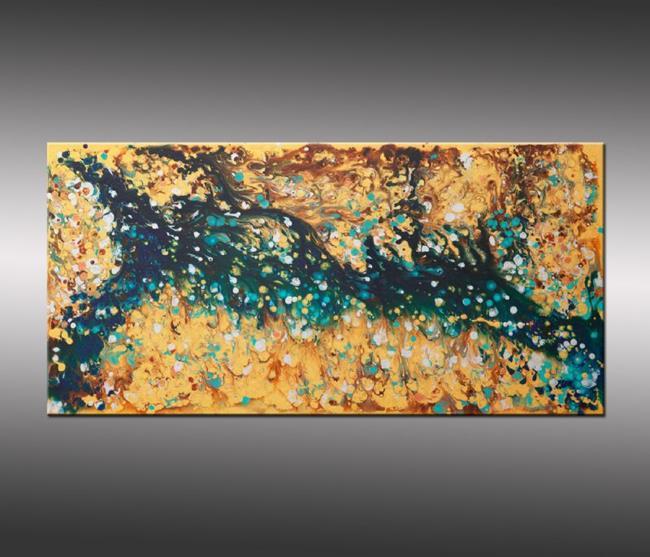 Art: Liquid Energy 17 by Artist Hilary Winfield
