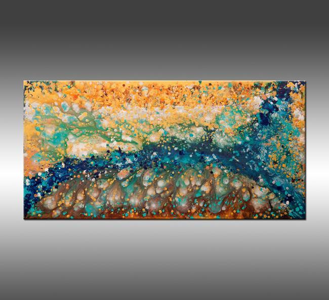 Art: Liquid Energy 21 by Artist Hilary Winfield