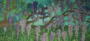 Detail Image for art Wisteria over the Gate