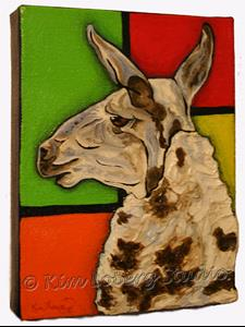 Detail Image for art A Llama Named Piet