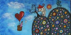 Art: Searching For Love by Artist Juli Cady Ryan