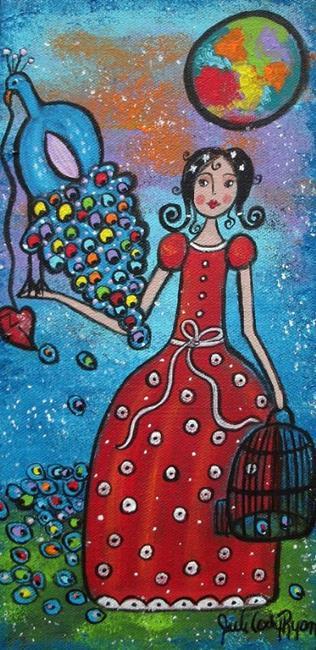 Art: Captured Heart by Artist Juli Cady Ryan
