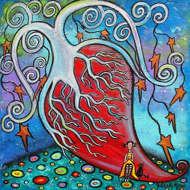Art: Love Is All by Artist Juli Cady Ryan
