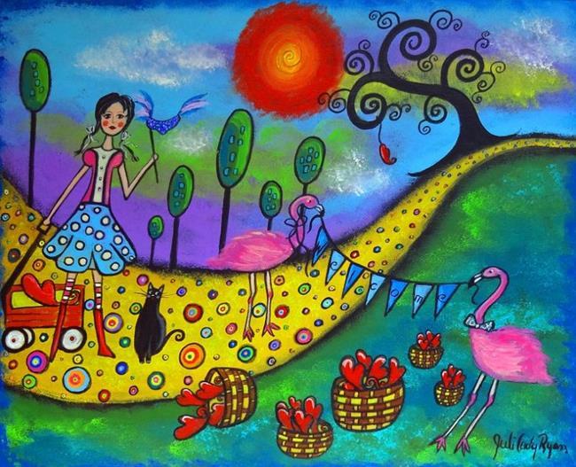 Art: Making Room for Love by Artist Juli Cady Ryan