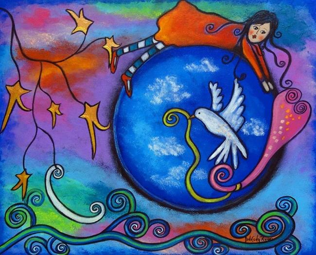 Art: Chasing Love by Artist Juli Cady Ryan