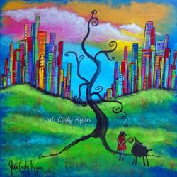 Art: Day of Acceptance by Artist Juli Cady Ryan