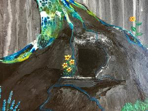 Detail Image for art Radiating Kindness
