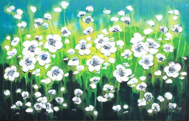 Art: Field Flowers (s) by Artist Luba Lubin