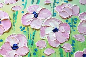 Detail Image for art Pink Flowers (s)