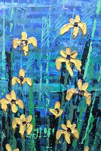 Detail Image for art Yellow Irises (s)
