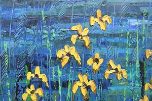 Detail Image for art Yellow Irises (s)