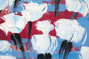 Detail Image for art White Tulips