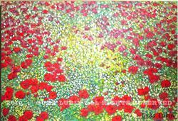 Art: poppies (s) by Artist Luba Lubin
