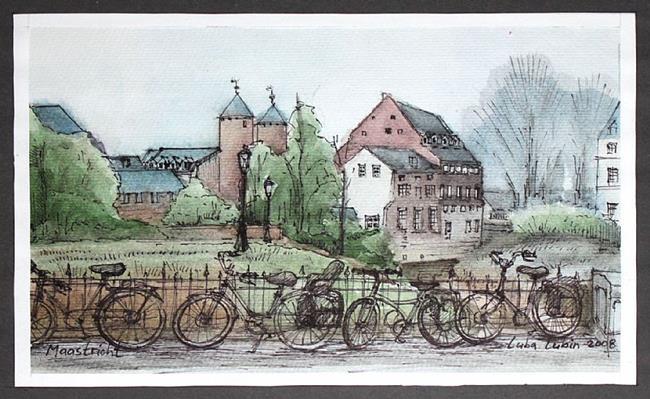 Art: Maastricht by Artist Luba Lubin