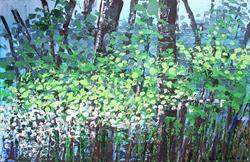 Art: Spring Forest (s) by Artist Luba Lubin