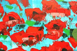 Detail Image for art Red Flowers (s)