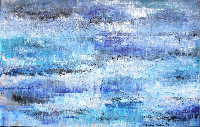 Art: Azure Blue Sky (a) by Artist Luba Lubin