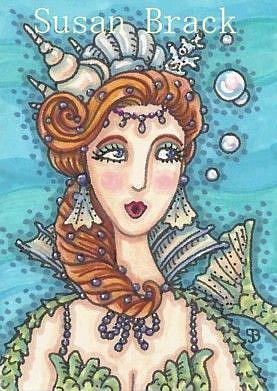 Art: BLOWING BUBBLES by Artist Susan Brack