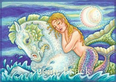 Art: SAILOR'S DREAM by Artist Susan Brack