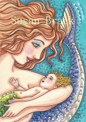 Art: HER FATHER'S EYES by Artist Susan Brack