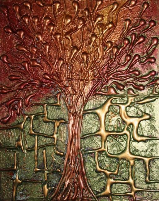 Art: My Little Christmas Tree by Artist LUIZA VIZOLI
