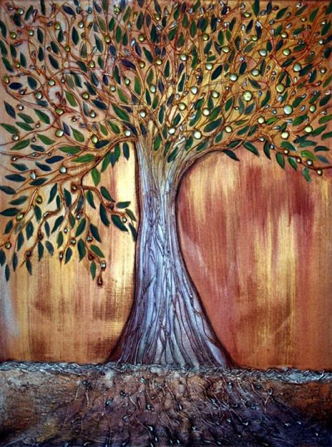 Art: TREE OF LIFE by Artist LUIZA VIZOLI