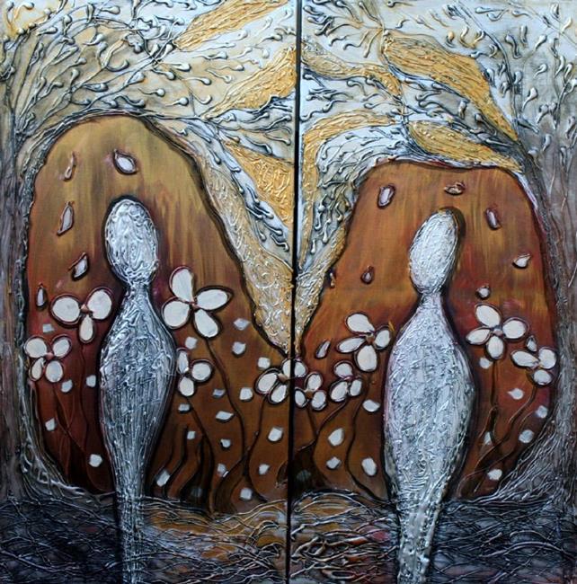 Art: GENESIS by Artist LUIZA VIZOLI