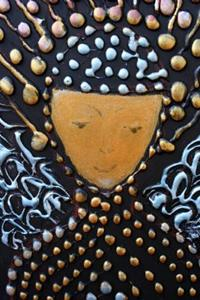 Detail Image for art GOLD ANGEL-ICON on WOOD