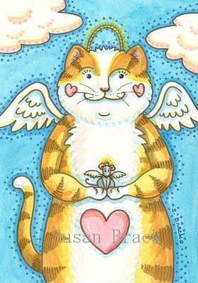 Art: WHISKERS N' WINGS by Artist Susan Brack